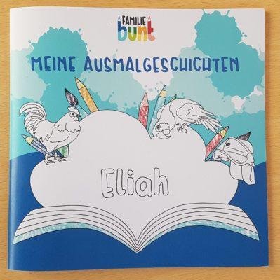 Familie Bunt -Beispielbuch